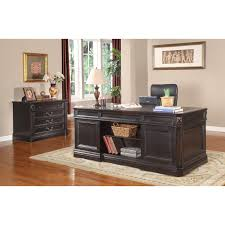 parker house grand manor palazzo home office double pedestal executive desk gpal 9080 3 the simple s
