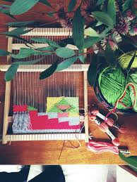 Farrin O Connor Design Studio Weaving By Maryanne Moodie Weaving Loom Weaving Woven