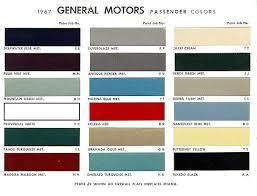 1965 Pontiac Color Chart 44 Factual Gm Paint Colors