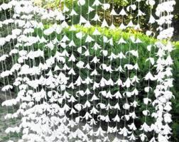 Paper Flower Backdrop Garland Paper Flower Garland Etsy