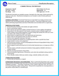 Corrections Officer Resume correctional officer resume sample Enderrealtyparkco 1
