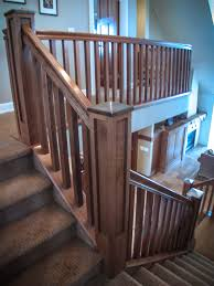 Craftsman Staircase missionstyle staircase & railings artistic stairs 8173 by xevi.us