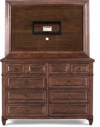 dresser with tv mount. Brilliant Dresser Bedroom Furniture  Dresser And TV Mount Chestnut And With Tv D
