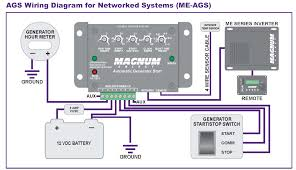 automatic generator start circuit diagram the wiring diagram me ags n magnum energy automaic generator start module circuit diagram