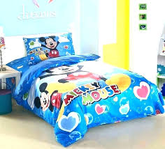 mickey twin bedding and comforter set mouse toddler sets within bed quilt
