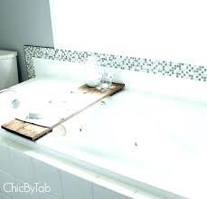 bathtub reading tray bathtub shelf bathtub tray for laptop shelf reading tub pole shelves recessed bathtub bathtub reading
