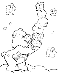 Small Picture care bear coloring pages Coloring Pages Crafty 80s Care