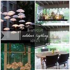 unique outdoor lighting ideas. unique outdoor lighting ideas