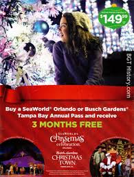this full page ad appeared on the inside cover of the aaa living in their last issue of the year promoting town at busch gardens tampa
