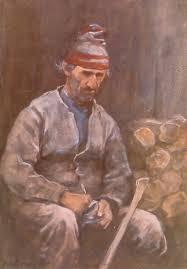 walker horatio 1858 1938 célestin le père célestin w c aquarelle 37 8 x 26 7 cm 1894 musée du québec photo de patrick altman