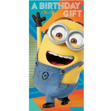 Despicable Me Birthday Card Despicable Me Minions Happy Birthday