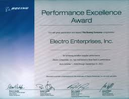 Awards Electro Enterprises Inc