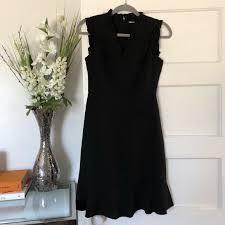 Karl Lagerfeld Paris Black Dress 0