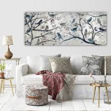 wexford home morning chorus gallery wrapped canvas wall art on gray wall art for living room with animals art gallery shop our best home goods deals online at