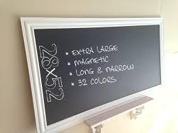 28x52 LARGE KITCHEN CHALKBOARD Framed Chalk Board Organizer by  ShugabeeLane, $219.00
