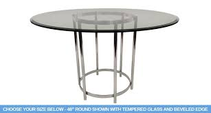 654 ringo dining table includes 1 2 thick tempered glass with 1 bevel edge