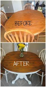 diy shabby chic dining table and chairs. how to give your wood table a complete shabby chic makeover using stain and annie diy dining chairs b