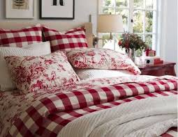 french country bedding sets red