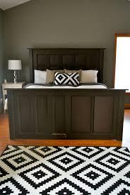 Five Panel Door Headboard Best 20 Door Bed Frame Ideas On Pinterest Door Bed Rustic Bed