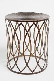 marvelous geometric side table with jordan various colors metal side table
