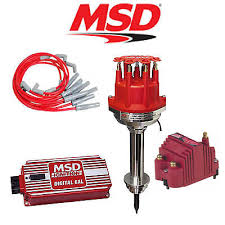 msd ignition kit digital 6al distributor wires coil bracket msd 9107 ignition kit digital 6al distributor wires ss coil chrysler 413