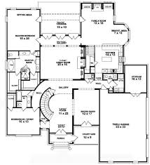Four Story House Plans Enjoyable Inspiration 3 1 Bedroom Double.