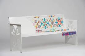 furniture motifs. Steel Furniture With Handmade Stitched Romanian Traditional Motifs By Metal  Creativ Furniture Motifs N