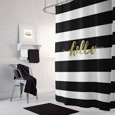 black and white bathroom accessories. Exellent Black Black And Gold Shower Curtain Inspiration Of White Bathroom  Accessories To