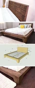 rustic furniture diy. Diy Rustic Bedroom Furniture Platform Bed Beds Frame Reclaimed Wood .