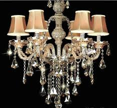 crystal chandelier lamp shades for chandeliers with clip on uk 8