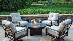 unusual garden furniture. Unique Garden Unusual Patio Furniture Table With Gas Fire Pit Home Interior Sets  Inspirational Of Garden For N