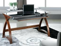 long wooden desk large size of inch desk with drawers black wood desk long wooden desk