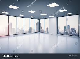 office glass windows. Contemporary Windows 3d Rendering Empty Office Space With Glass Windows In Office Glass Windows K