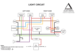 simple chopper wiring diagram for or