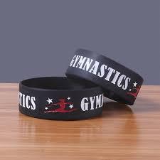 <b>Fashion Simple</b> Black Gymnastics Wind Unisex Exquisite <b>Silicone</b> ...
