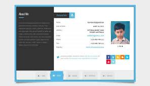 Free Html Resume Template Ekizbiz Resume