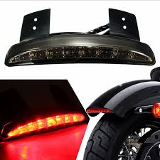 high quality motorcycle light rear fender edge red led tail brake