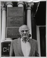 rita barros photograph arthur miller outside the chelsea hotel rita barros photograph arthur miller outside the chelsea hotel 1992 gelatin silver print