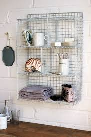 brilliant wall mounted wire shelving units wall mounted wire storage shelving unit white more wire