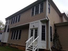 painting exterior trim. painting exterior trim