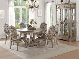 northville formal dining room set with round table