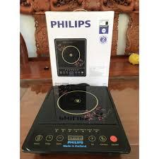 Bếp từ đơn phím cơ Philips HD4921 công suất 2000W tặng kèm nồi, Giá tháng  11/2020