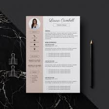 Indesign Modern Resume Template Cv Template Design Free Download Modern Resume