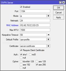 Simple OpenVPN Server on Mikrotik – Medo's Home Page