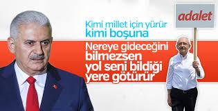 Başbakan Yıldırım Kılıçdaroğlu'nun yürüyüşünü eleştirdi