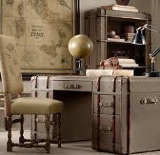 vintage office decor. Vintage Officer Decor Traveler Explorer MAN Richardtrunk27 Refined  Furniture Items Made Out Of Old Trunks Vintage Office Decor E