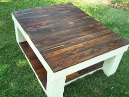 Pallet Wood Coffee Table Beautiful Reclaimed Pallet Wood Coffee Table 101  Pallets