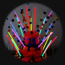 lighting for parties ideas. simple lighting glow sticks in a birthday cake to lighting for parties ideas c