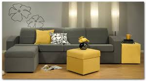 Yellow And Grey Living Room Living Room Living Room Interior Dazzling Design Using White
