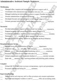 Examples Of Administrative Assistant Resumes Sample Administrative Assistant Resume Yahoo Search Results Job